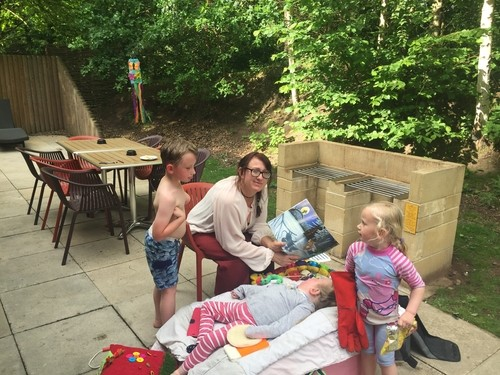 HARRIET AND FAMILY RETURN TO CENTER PARCS IN 2017